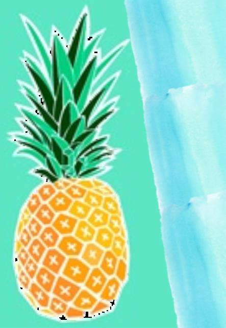 maglietta ananas in the sky