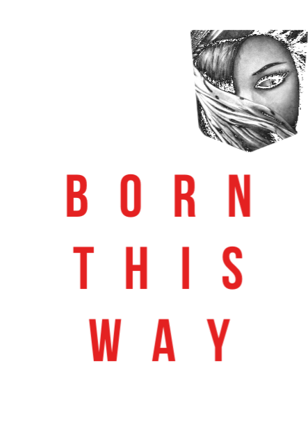 maglietta BORN THIS WAY