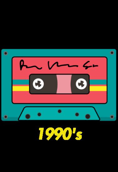 maglietta 1990's