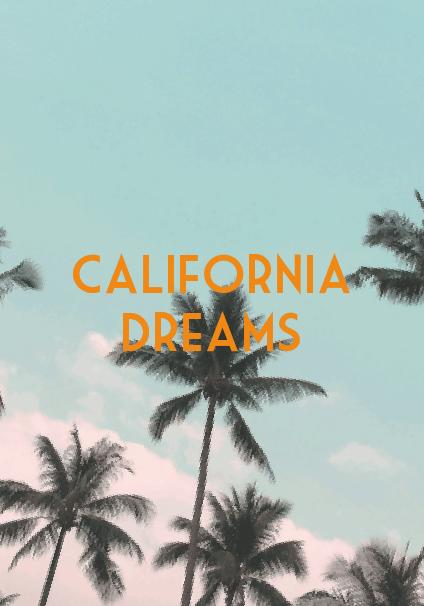 maglietta California Dreams