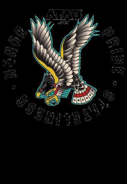 maglietta eagle white