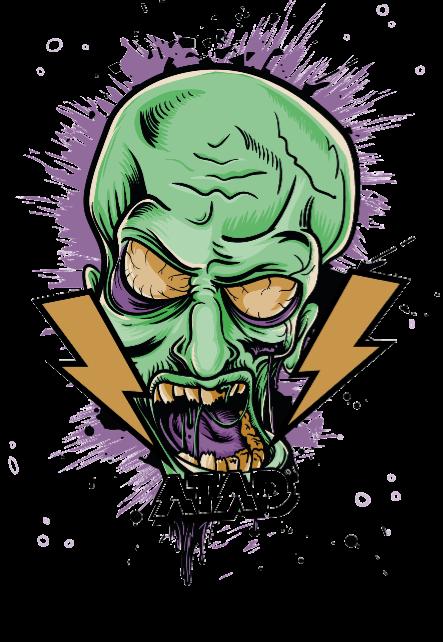 maglietta zombies