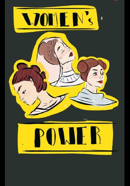maglietta women's power