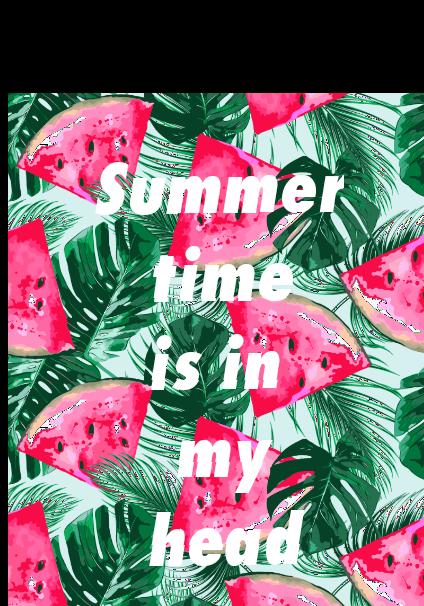 maglietta SUMMER TIME