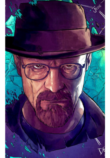maglietta Breaking bad cover