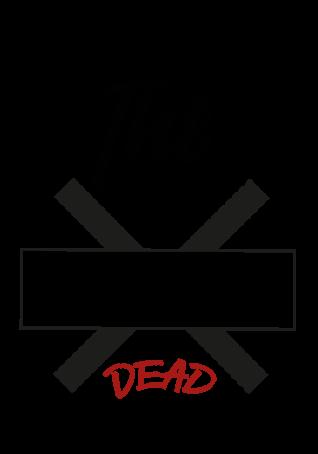 maglietta *Dead*