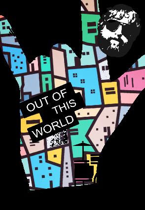 maglietta fuori dal mondo