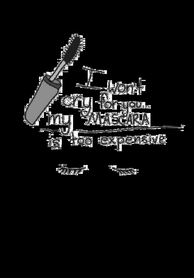 maglietta Mascara T-shirt