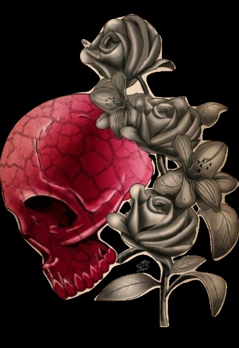 maglietta Skull Rose #Gio3