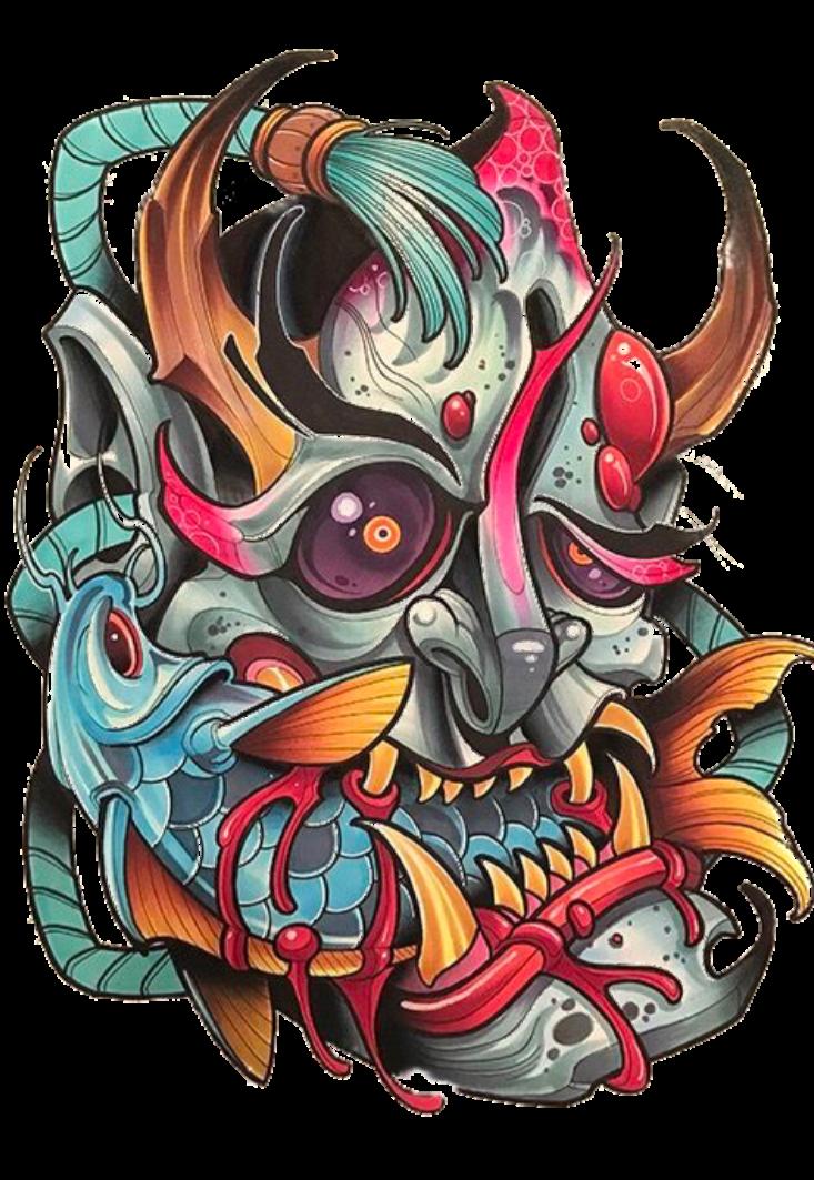 maglietta Japanese Demon #Gio3