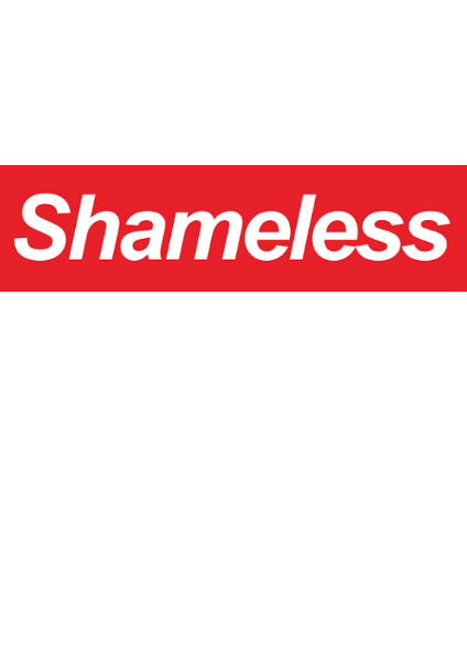 maglietta T-SHIRT BOX LOGO SHAMELESS