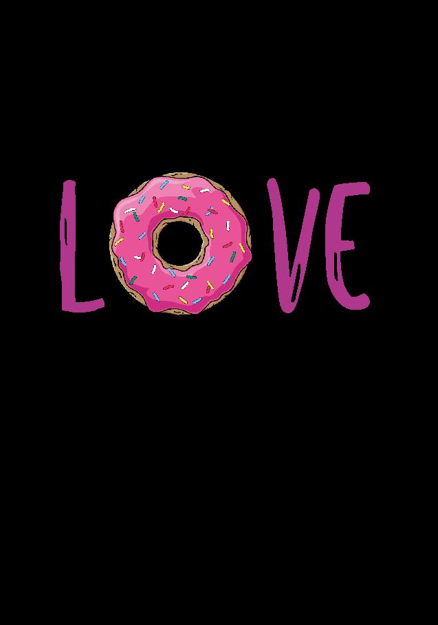 maglietta donut passion