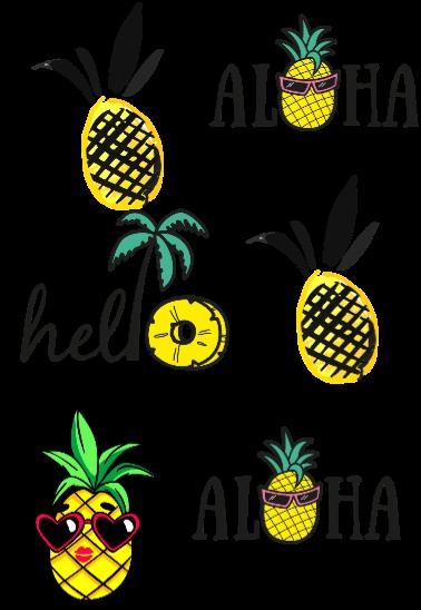 maglietta pineapple