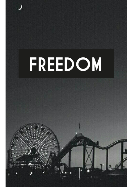 maglietta freedom