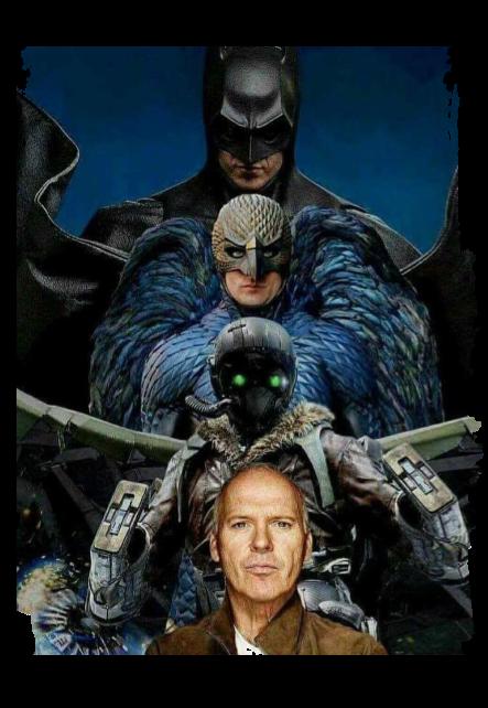 maglietta The Batman, the Birdman, the Vulture