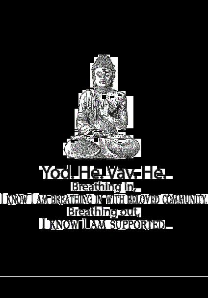 maglietta Breathing mindfulness meditation community