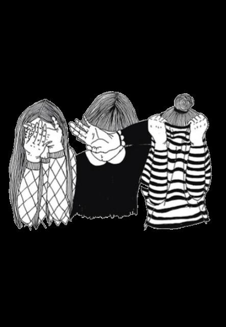 maglietta 3 girls