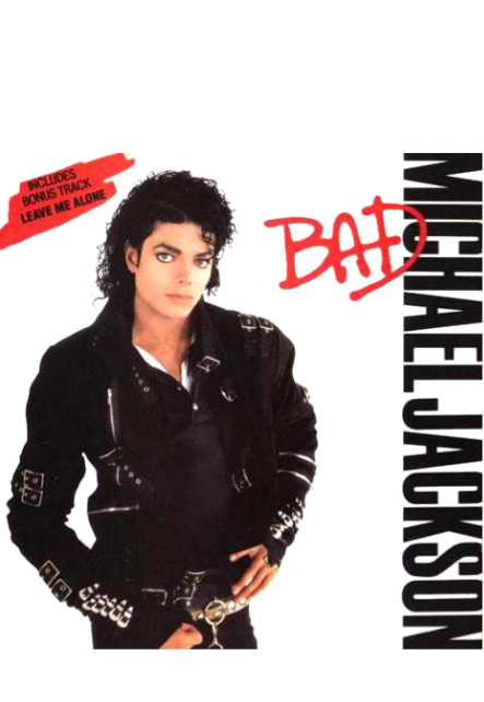maglietta Michael Jackson - Bad