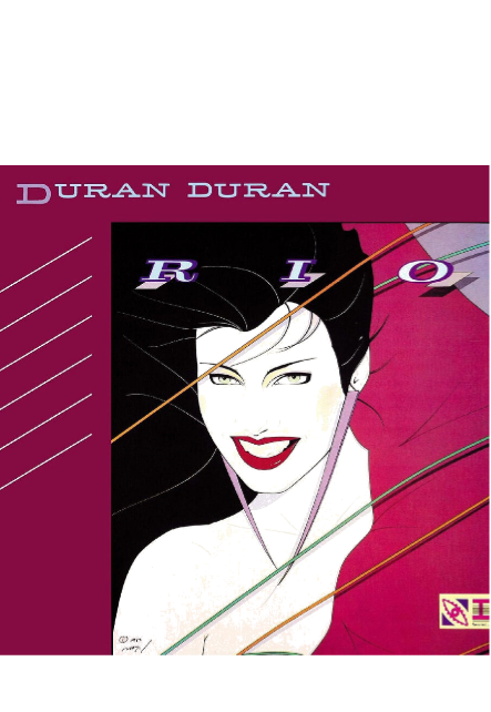 maglietta Duran Duran - RIO