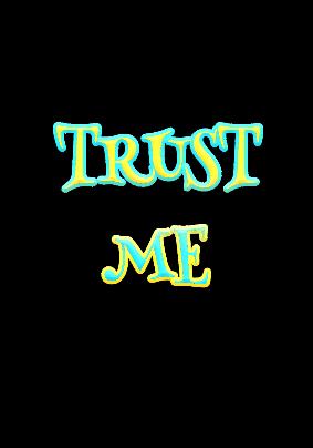maglietta trust me