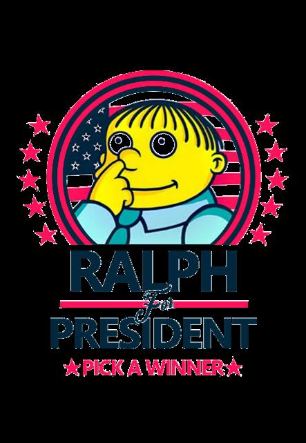 maglietta Ralph for president