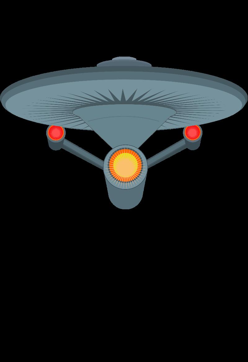 maglietta enterprise
