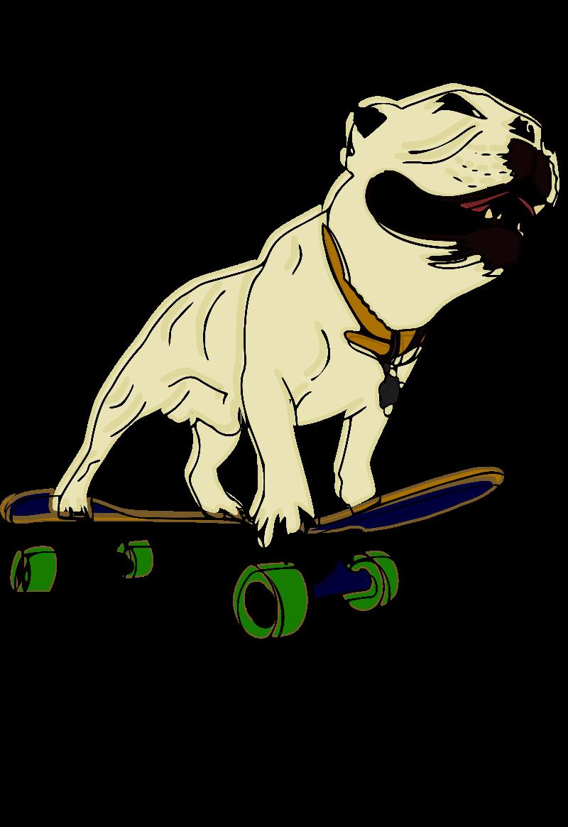 maglietta Skatedog