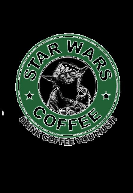 maglietta Star Wars Coffee