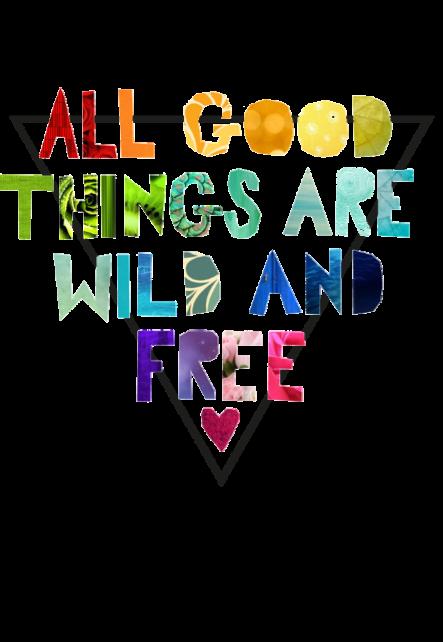 maglietta Wild & Free