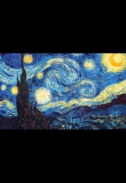 maglietta starry night