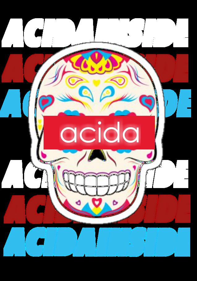 maglietta acidaINSIDE
