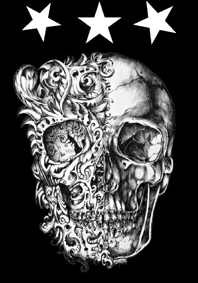 maglietta starskull