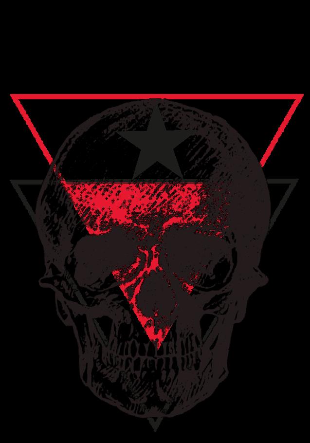 maglietta triangleskullman