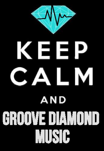 maglietta keep calm and Groove Diamond music