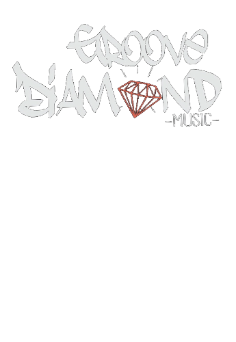 maglietta Groove Diamond Music (Logo black)