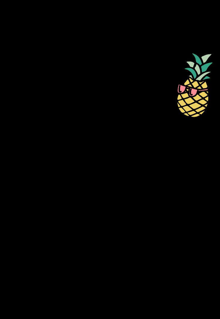 maglietta #pineapple