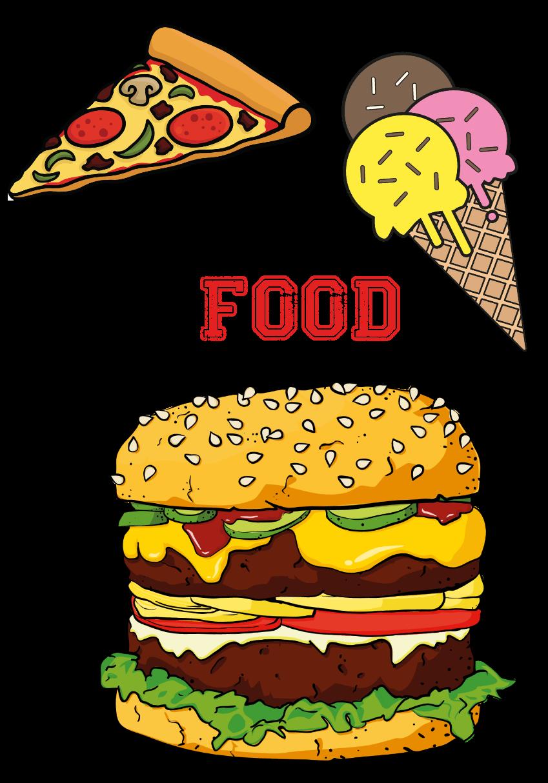maglietta FOOD
