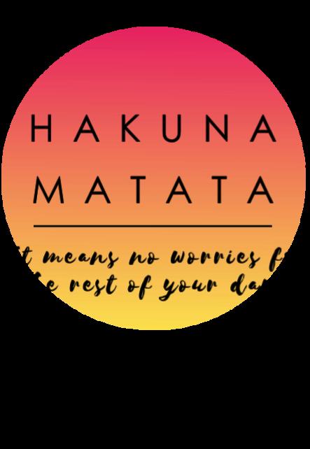 maglietta HAKUNA MATATA