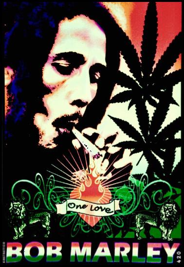 maglietta 420 Bob Marley®