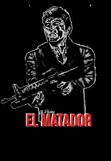 maglietta El Matador al pacino ®