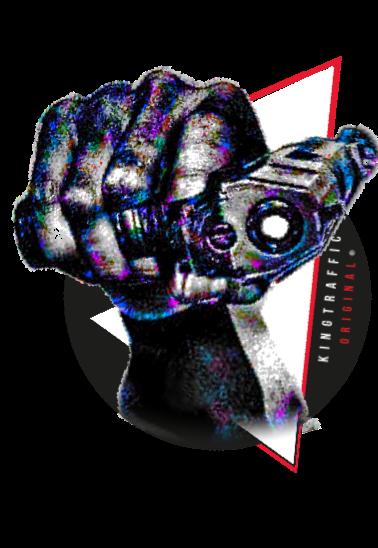 maglietta pistola gansta ®