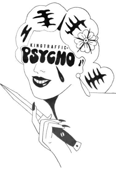 maglietta GirlPsycho®
