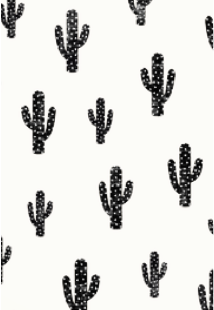 maglietta Black cactus