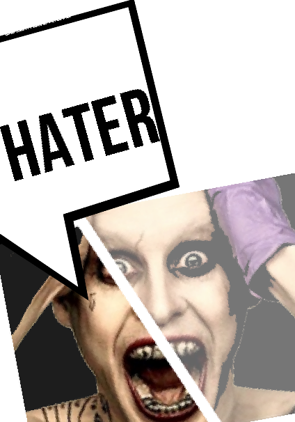 maglietta HATERS !!!