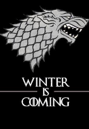 maglietta winter is coming