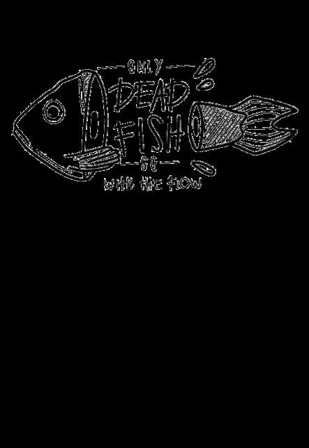 maglietta Dead fish