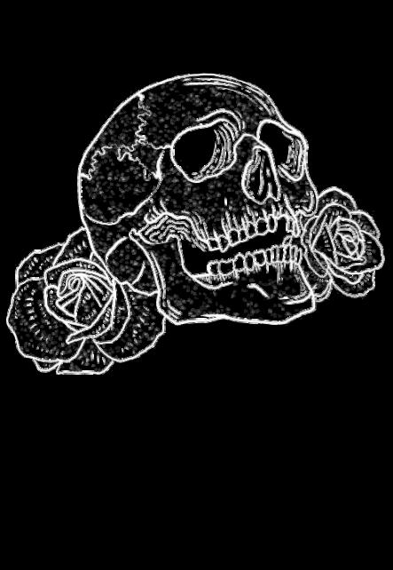 maglietta Death is near