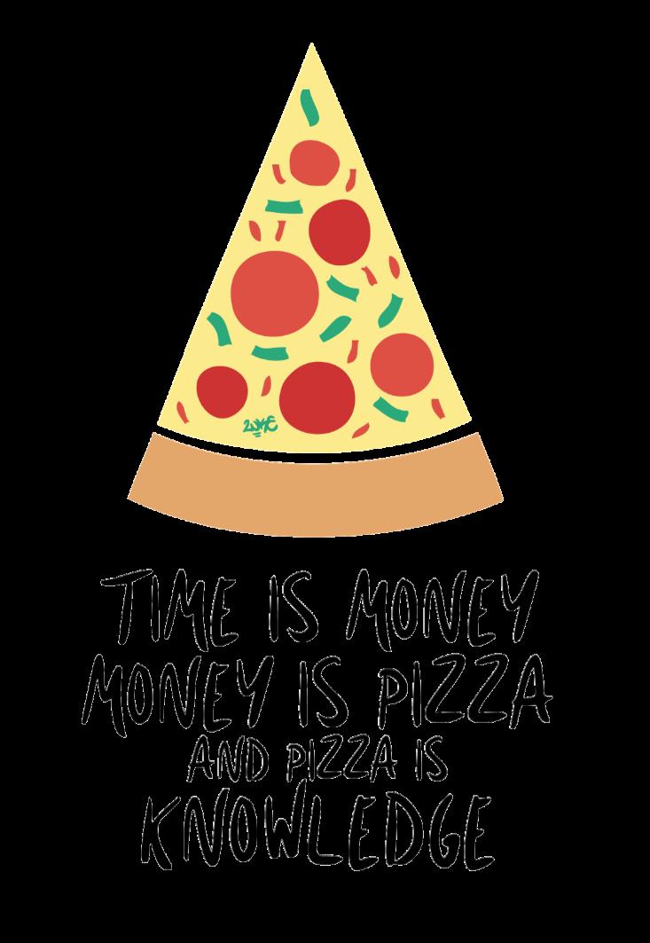 maglietta Slice of Pizza