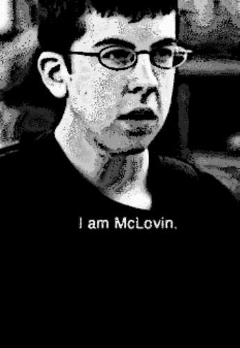 maglietta I am McLovin.