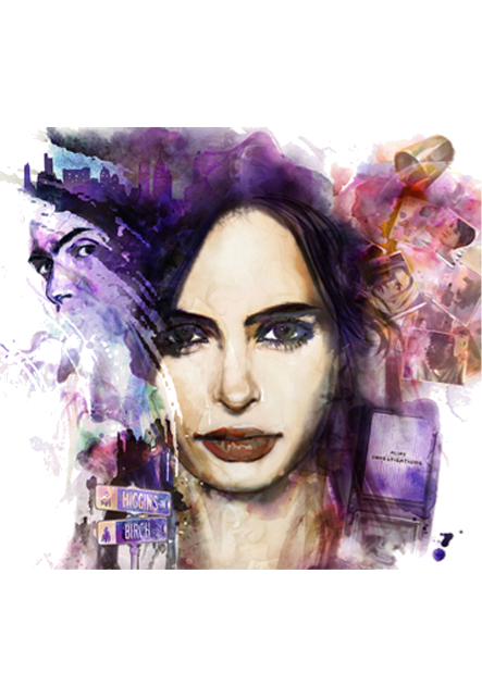maglietta jessica jones